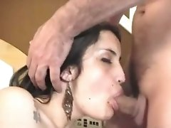 Teen Latina tranny Amanda Vaz gets picked up, sucks and gets fucked in the ass hard by a stranger