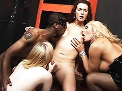 Nikki in a 4some with Alison & Jessica