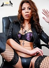 Asian transsexual with 36-26-34 figure. She stabds 5'8 tall and weigh 130 lbs. Akira is a passionate and caring T-girl who radiates femininity, y
